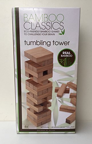 Bamboo Tumbling Tower Game
