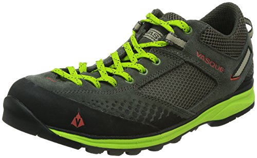 Vasque Men's Grand Traverse Performance Hiking Shoe,Beluga/Lime Green,10.5 M US (Vasque Shoes compare prices)