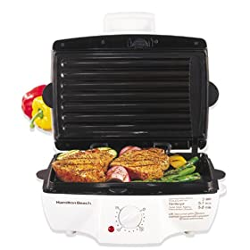 Hamilton Beach 25285H Meal Maker Express Contact Grill