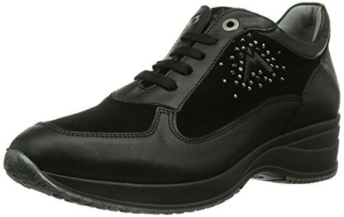 Andrea Morelli CASUAL, Sneaker Donna, Nero (Schwarz (NERO)), 35 (3 uk)