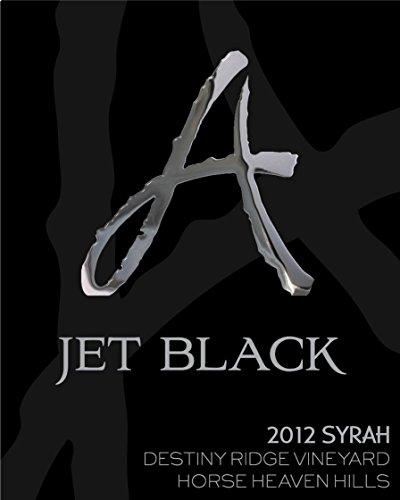 "2012 Alexandria Nicole Cellars ""Jet Black"" Horse Heaven Hills Syrah 750 Ml"