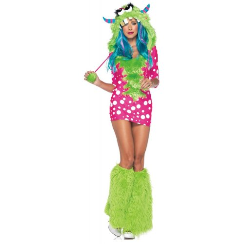 Wmu - Melody Monster Women's Costume- Extra Small