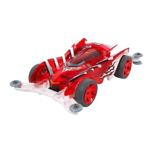 ミニ四駆限定シリーズ スラッシュリーパー クリヤーレッドッスペシャル (ARシャーシ) 95009