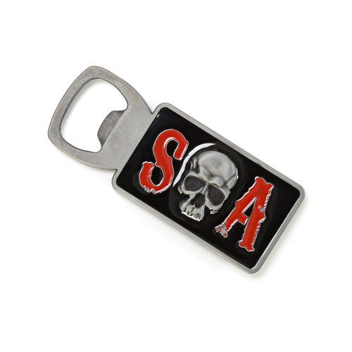 Sons Of Anarchy SOA Skull Bottle Opener