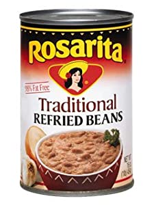 Refried Beans Regular By Rosarita 16 Oz by Rosarita