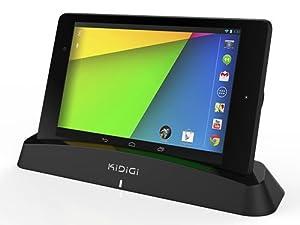 Nexus7(2013)を立てかけるだけ充電、スタンドにもなるCharging Dock for Google New Nexus 7 (2013) 無線充電器Qi