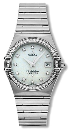 Omega Women's 1498.75.00 Constellation Automatic Diamond Watch
