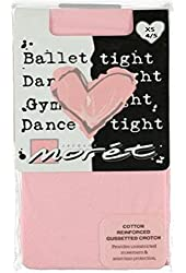 Jacques Moret Big Girls' Footed Ballet Tights - pink, X-Small 4-5