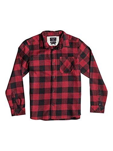 Boy's Red Plaid Shirt