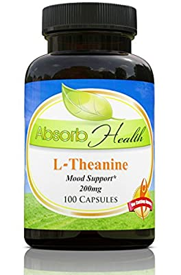 L-Theanine | 200mg | 100 Capsules | Amino Acid | Relaxation and Anxiety Support