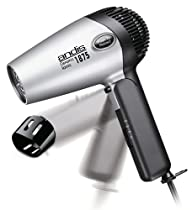 Andis RC-2 Ionic 1875W Ceramic Hair Dryer with Folding Handle and Retractable Cord