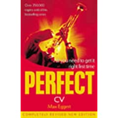 Image: Cover of The Perfect CV