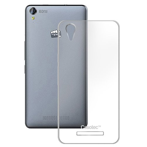 Casotec Soft TPU Back Case Cover for Micromax Canvas Juice 3 Plus Q394 - Clear  available at amazon for Rs.149