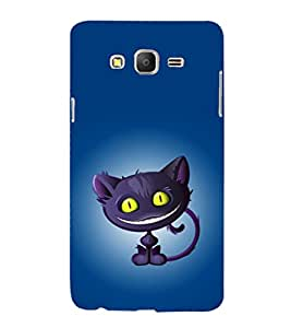 printtech Alice Wonderland Cat Back Case Cover for Samsung Galaxy On5