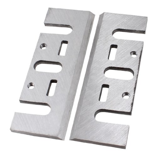 Amico 2 Pcs Power Tool Part Electric Planer Blades for Makita N1900B
