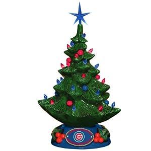 MLB Chicago Cubs Christmas Tree