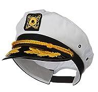 Kangaroo Adult Captain's Yacht Cap, W…