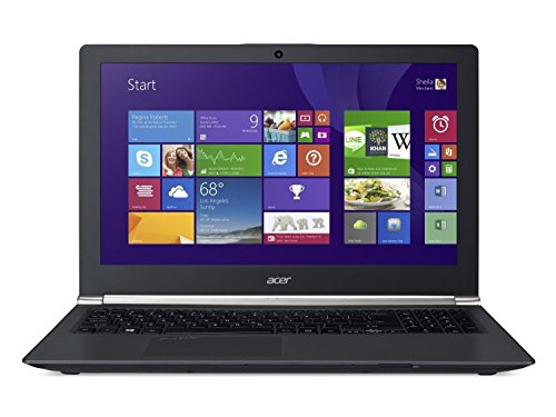 Acer vn7 591g 156 inch touchscreen notebook black intel core i7 4710hq 25 ghz 8 gb ram 1 tb hdd windows 81