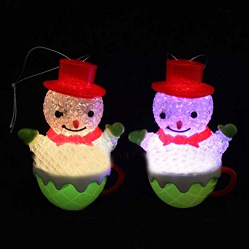 Snowman Useful And Colorful Christmas Night Cute Night Lamp Bedroom Decoration Gift High Quality Led Night Lamp Christmas Creative Gift