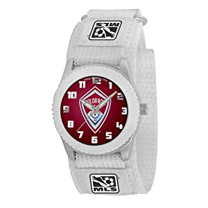 Colorado Rapids MLS Kids Rookie Series Watch (White) by Game Time