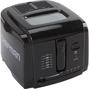 Chefman Professional-Style Deep Fryer - 2-Liter Capacity, 1200 Watts, Model# RJ07-V2