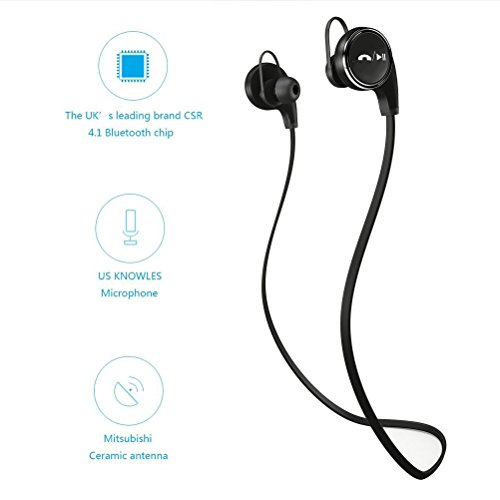 Amerzam-QY8-Bluetooth-41-Earbuds-Wireless-Sports-Headset-Stereo-Headphones-with-Mic-Black