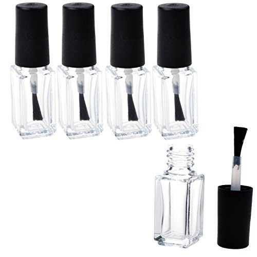 adecco-llc-empty-nail-polish-clear-bottles-with-brush-cap-7p-by-adecco-llc
