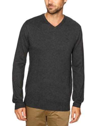 Quiksilver Rekaya V-KPMPU232 Men's Jumper Anthracite Medium