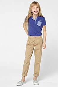 Girl's Cotton Gabardine Pant