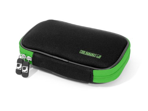 Cool Bananas ShockProof 2.5 inch Case for External Hard Disk – Green