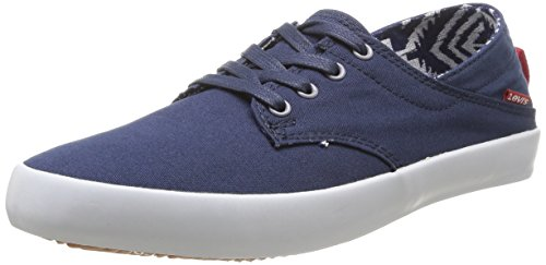 Levi's  Sunset Low Lace,  Sneaker uomo Blu Bleu (17) 44