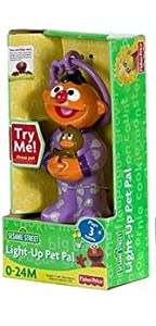 Sesame Street Ernie Light Up Musical Pet Pal