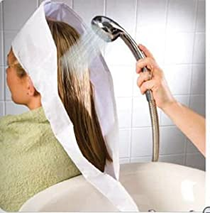 wash day products shampoo rinser and hair funnel