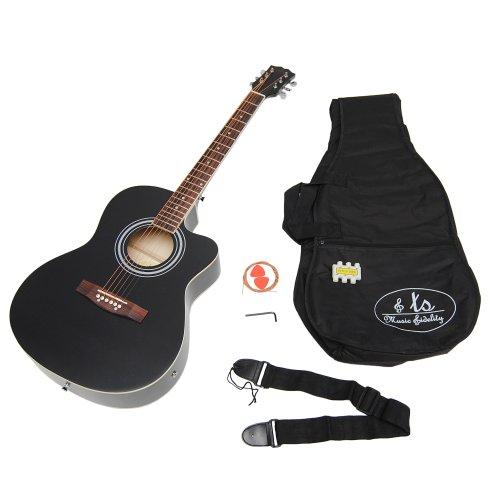 Ts ideen 4505 guitarra ac stica 4 4 afinador con for Ts ideen