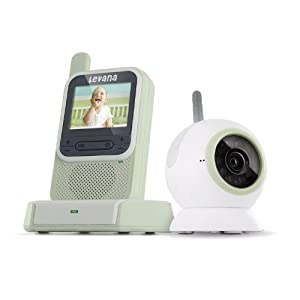 Levana ClearVu Digital Video Baby Monitor with Color Changing Night Light (LV-TW301)