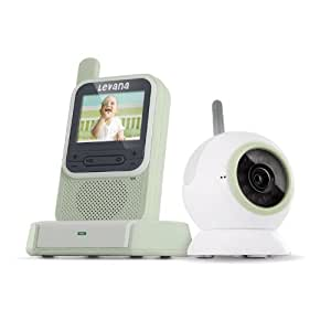 Levana ClearVu Digital Video Baby Monitor with Color Changing Night Light (LV-TW301) (Discontinued by Manufacturer)