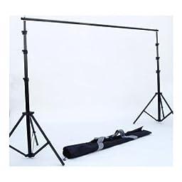 JTL 10 x 10 Feet Heavy Duty Steel Background Support Set