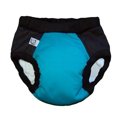 Super Undies Bedwetting Pants, The Aquanaut (Light Blue), Size Small