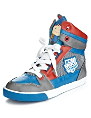 Mike the Knight Lace Up High Top Trainers