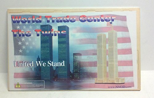 World Trade Center 3-D Balsa Wood Puzzle (World Trade Center Model compare prices)