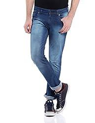 Raw Denim Blue Slim fit Jeans
