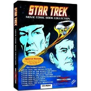 Star Trek - Movie Comic Book Collection