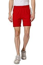 Ajile by Pantaloons Men's Shorts (301177620_Red_X-Large)