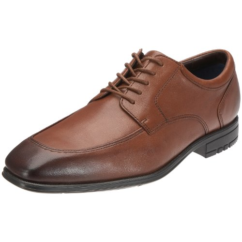 Rockport Men's Maccullum Dark Tan Shoe K54473  9 UK , 43 EU , 9.5 US