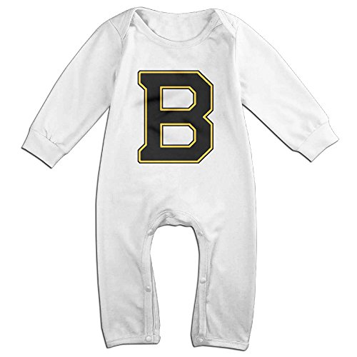 [ROBERT Baby Infant Romper B Logo Unique Long Sleeve Jumpsuit Costume 24 Months] (Hockey Stanley Cup Costume)