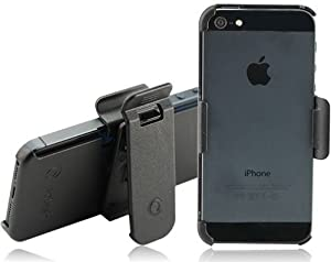 Splash Slim-Profile Polycarbonate Holster with Rotating Belt Clip for iPhone 5