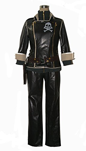 Custom-made Cosplay Costume for Space Pirate Captain Harlock Yama