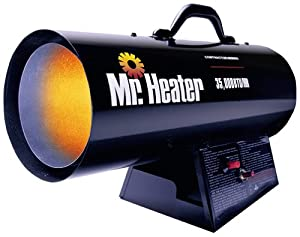 Mr. Heater 35,000 BTU Propane Forced-Air Heater #MH35FA from Mr. Heater