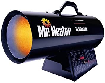 portable forced air propane heater