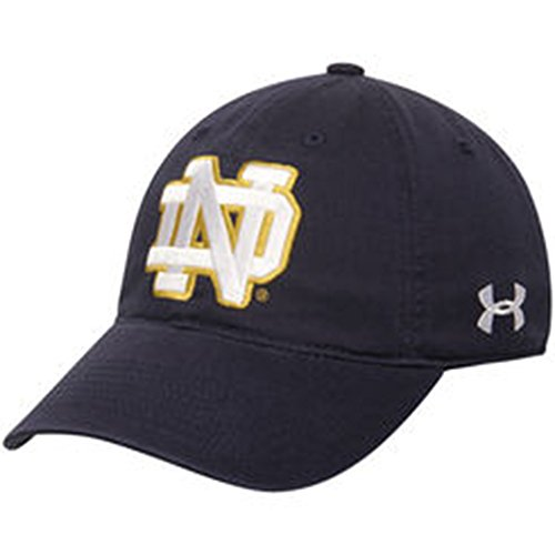 Notre Dame Fighting Irish Under Armour Basic Adjustable Hat
